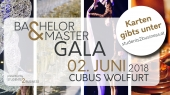 Bachelor & Master Gala – am 2. Juni im Cubus Wolfurt!